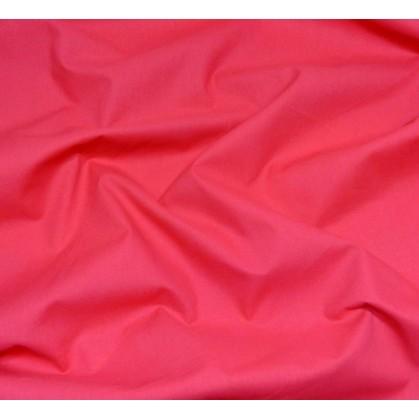coupon coton à drap cotoval uni fuchsia