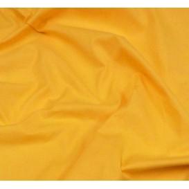 coupon coton à drap cotoval uni jaune