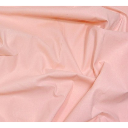coupon coton à drap cotoval uni rose