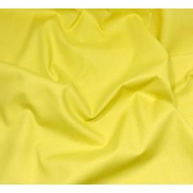 coupon coton à drap cotoval uni moutarde