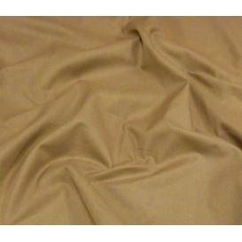 coupon coton à drap cotoval uni marron clair