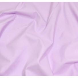 coupon coton à drap cotoval uni lilas