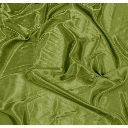 tissu satin kaki largeur 140cm x 50cm