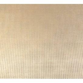 tissu simili cuir diamond stone beige largeur 138cm x 50cm