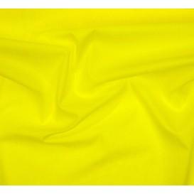 tissu popeline jaune largeur 145cm au mètre