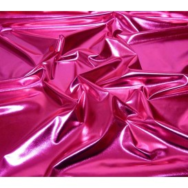 coupon lamé stretch fuschia