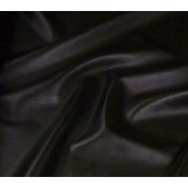 tissu simili cuir noir largeur 144cm x 50cm