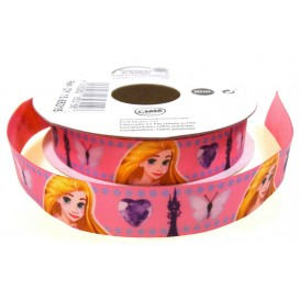 coupon 3m ruban satin disney raiponce 15mm