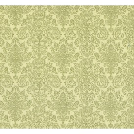 tissu patchwork makower damask vert largeur 110cm x 25cm