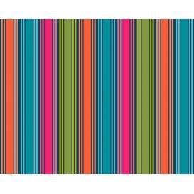 tissu patchwork makower rayures multi largeur 110cm x 25cm