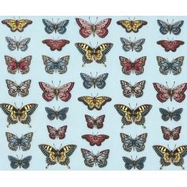 tissu patchwork makower papillon largeur 110cm x 25cm