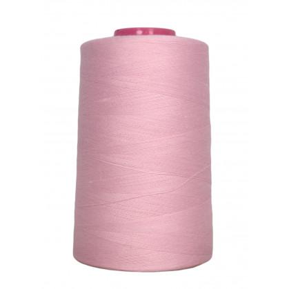 cône de fil à surfiler et à coudre rose 5000yards
