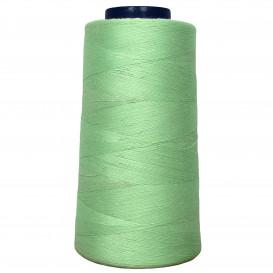 cône de fil à surfiler et à coudre vert anis clair