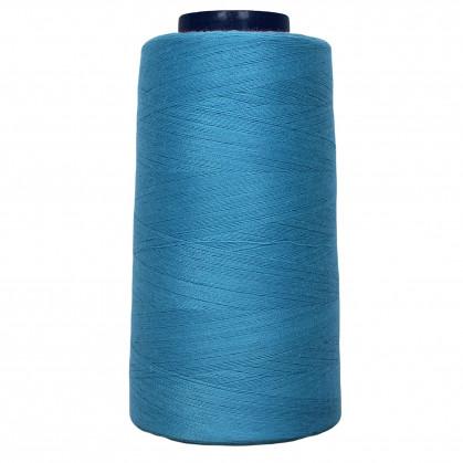 cône de fil à surfiler et à coudre turquoise