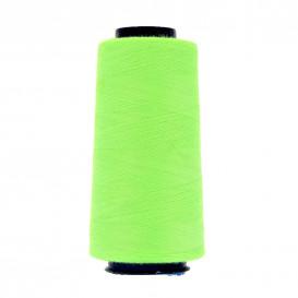 cône de fil à surfiler et à coudre vert fluo