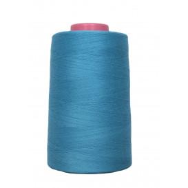 cône fil à coudre et surfilage turquoise 4573m