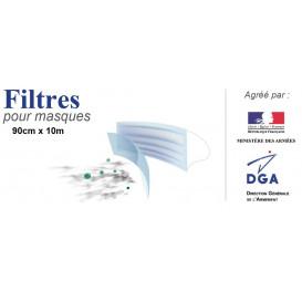 filtres pour masques 90cm x 10m