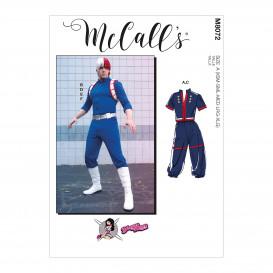patron déguisements unisexe McCall's M8072