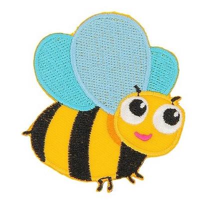 écusson abeille thermocollant