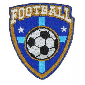 écusson blason football thermocollant