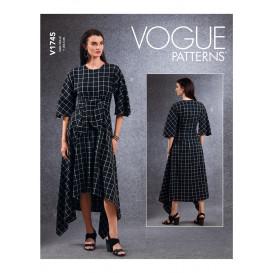 patron tunique, robe, pantalon Vogue V1745