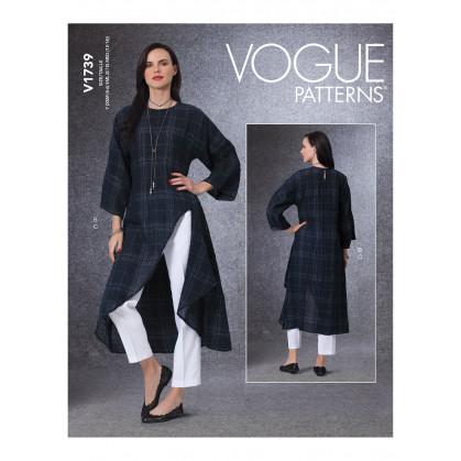 patron tunique et pantalon Vogue V1739