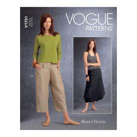 patron jupe et pantalon Vogue V1731