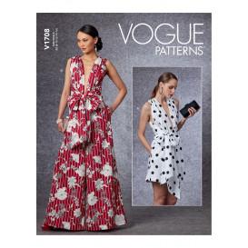 patron combinaison Vogue V1708