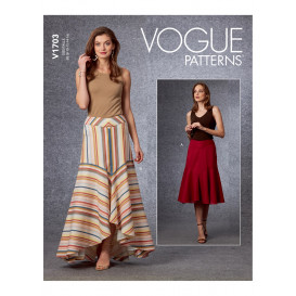 patron jupe Vogue V1703