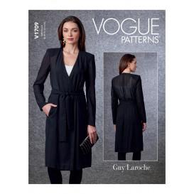 patron veste et ceinture Vogue V1709