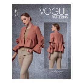 patron veste Vogue V1710