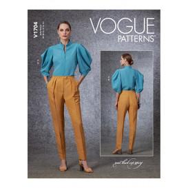 patron haut et pantalon Vogue V1704