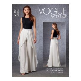 patron pantalon Vogue V1702