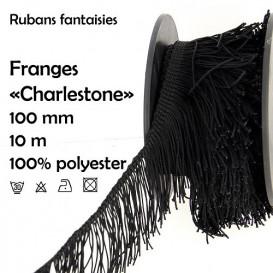 bobine 10m frange charleston droite 100mm