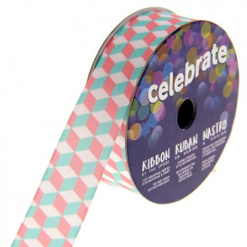 bobine de ruban celebrate satin cube 15mm x 3m