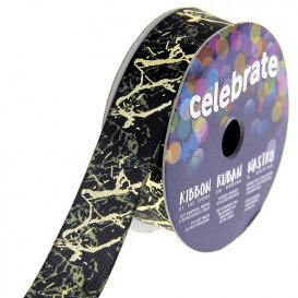 bobine de ruban celebrate satin camouflage 15mm x 2m