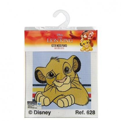 kit canevas disney le roi lion tête simba