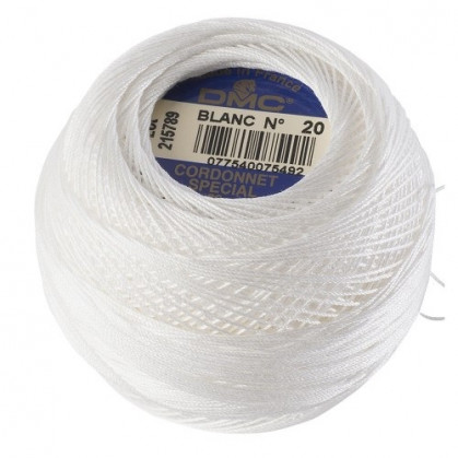 fil à crocheter cordonnet DMC n°20