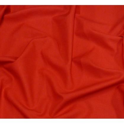 coupon 2,10m coton uni rouge