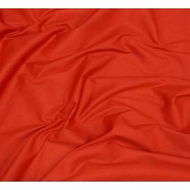 coupon 3m toile coton uni rouge