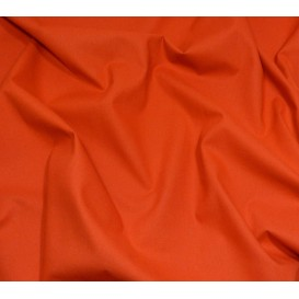 coupon 3m coton à drap cotoval uni cuivre