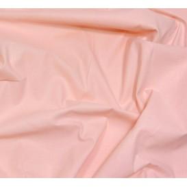 coupon 3m coton à drap cotoval uni rose