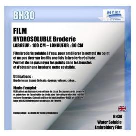 film hydrosoluble broderie 80cm x 100cm