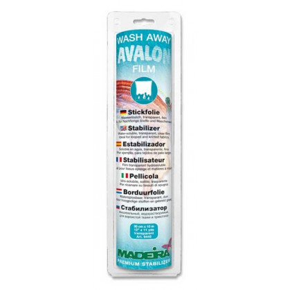 stabilisateur hydrosoluble Avalon Film 30cm x 10m