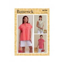 patron hauts Butterick B6768