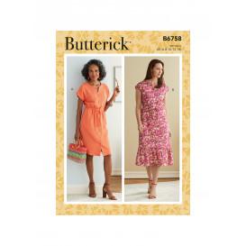 patron robe Butterick B6758
