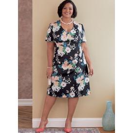 patron robe en tailles de tasse Butterick B6783