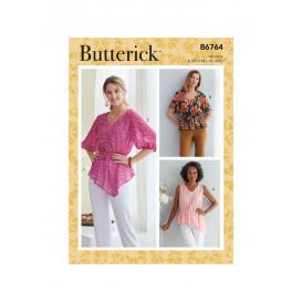 patron hauts Butterick B6764
