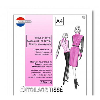 entoilage tissé thermocollant tissus coton
