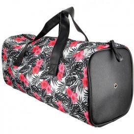 sac tricot fleurs 46x16x17cm